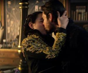 ben barnes, couple, and kiss image