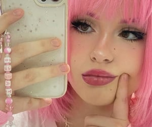 pink, mirror selfie, and site model icons image