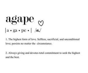 quotes and agape image