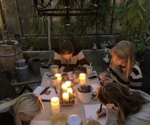 aesthetic, alternative, and dinner image