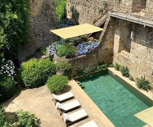 pool, Dream, and france image