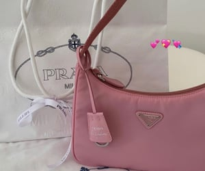 bag, pink, and Prada image