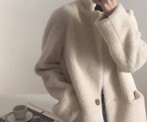 aesthetic, beige, and korean girl image