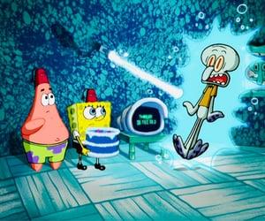 patrick, squidward, and spongebob image