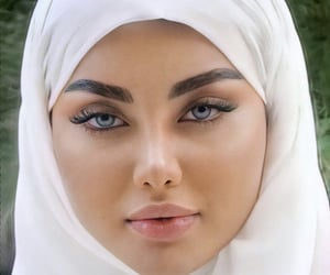 beauty, blue, and caucasian image