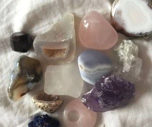 amethyst, crystals, and manifestation image