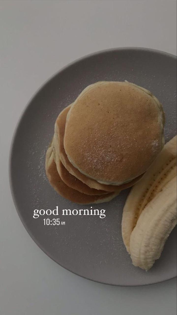 bananas, food, and pancakes image