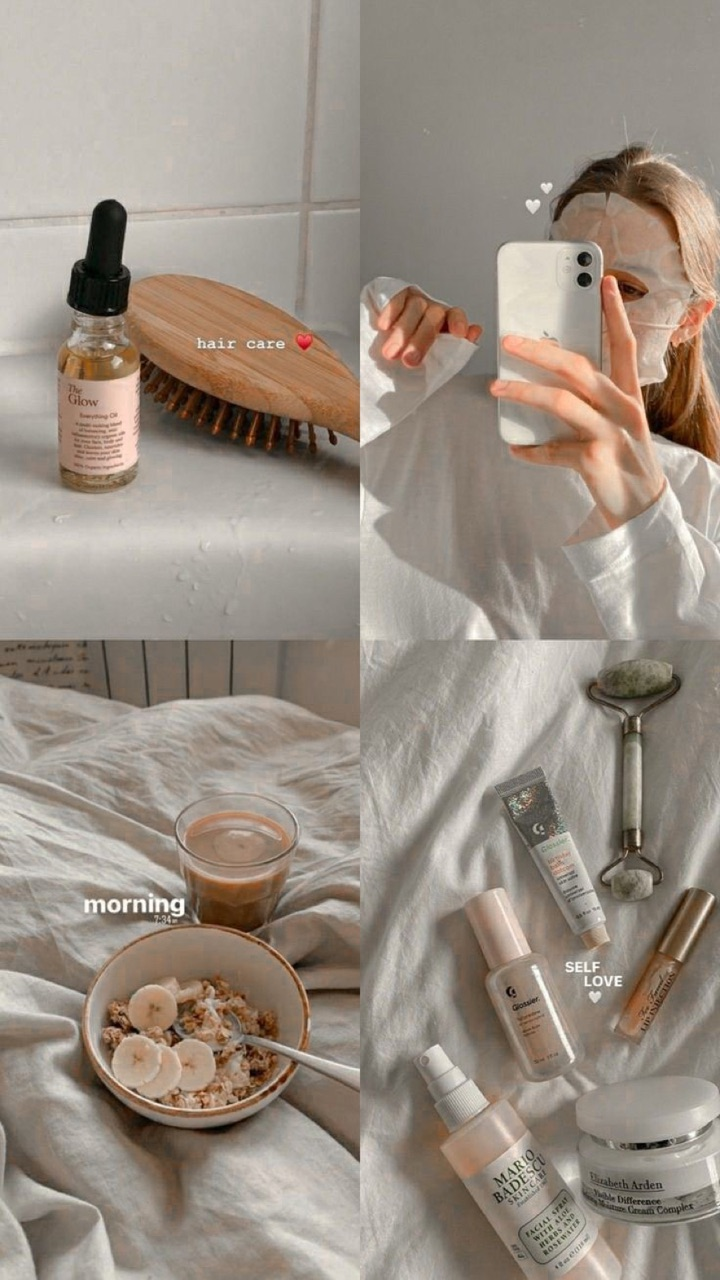 beige, morning, and mood board image