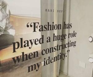 fashion, identity, and qoute image