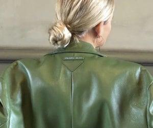 fashion, green, and Prada image