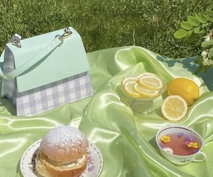 picnic, green, and food image