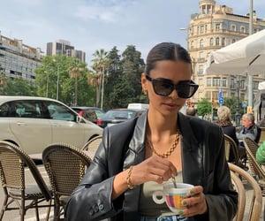 blogger, cappuccino, and fashion image