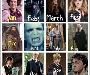 draco malfoy, hagrid, and dumbledore image