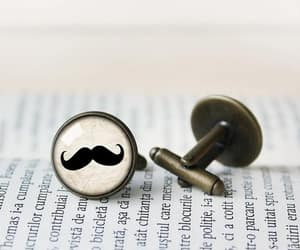 cufflinks, moustache, and mustache image
