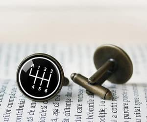 cufflinks, driver, and tie clip image