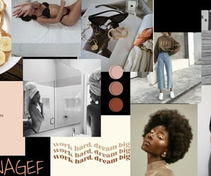 fashion, moodboard, and progress image