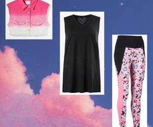 Bershka, pink, and shopping image