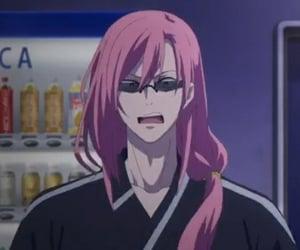 anime, cherry blossom, and anime boy image