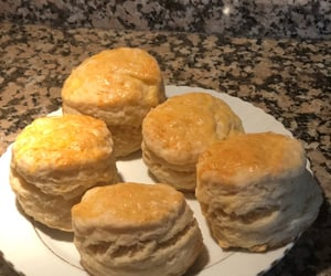biscuits, fluffy, and homemade image