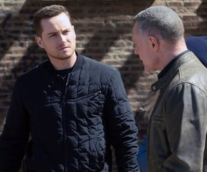 jay halstead, chicago pd, and one chicago image