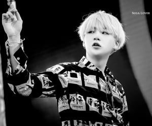 aesthetic, black white, and jin image