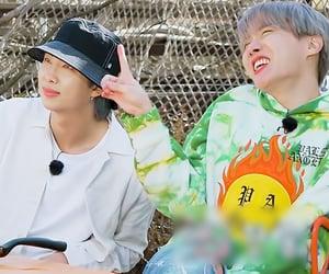 seokjin, hoseok, and taehyung image