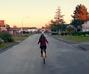 17, bicycle, and movies image