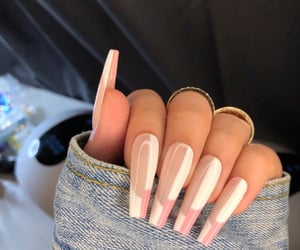 style, we heart it, and acrylic nails image