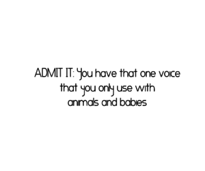 animals, babies, and quote image