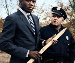 sidney poitier, in the heat of the night, and scott wilson image