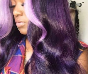 colorful hair, fashion, and inspiration image