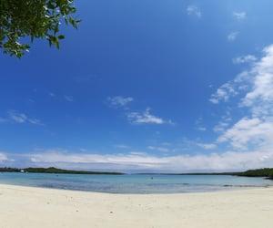 beach, blue, and ecuador image