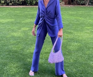 blue, fashion, and SexAndTheCity image
