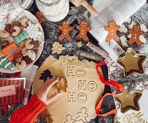 cold, decoration, and gingerbread image