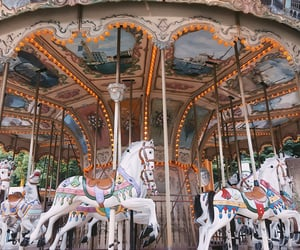 seoul, travel, and carousel image