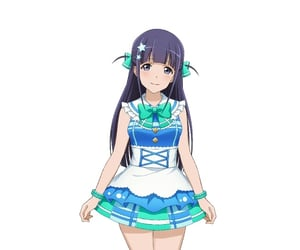 anime girl, tsuyuzaki mahiru, and game image
