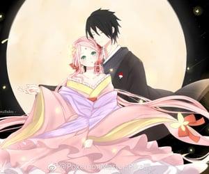 akatsuki, haruno sakura, and naruto image
