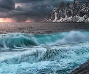 nature, sea, and view image
