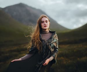 fashion, scotland, and shawl image
