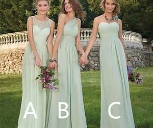 chiffon bridesmaid dress, bridesmaid dresses long, and cheap bridesmaid dress image