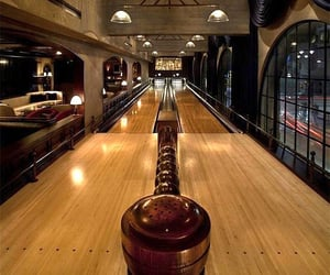 home improvements and home bowling alley image