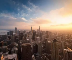chicago and chicago skyline image