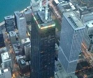 chicago, Lake Michigan, and john hancock image