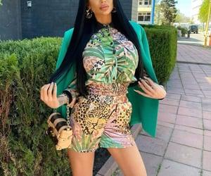 blazer, fashion, and leopard image
