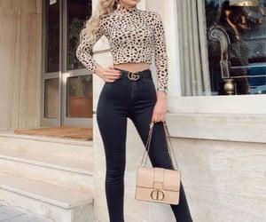 dior, fashion, and leopard image