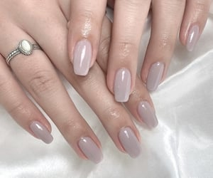 aesthetic, gel nail, and art image