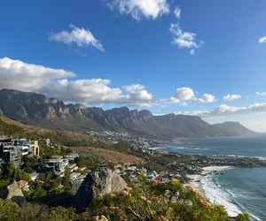 beautiful, ocean, and cape town image