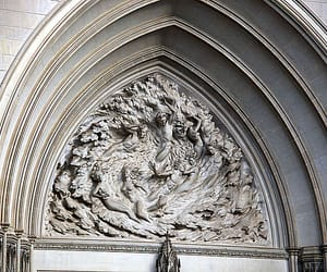 sculpture, national cathedral, and ex nihilo image