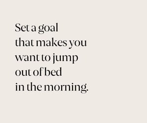 goals, New Life, and morning image