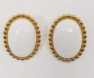 costume jewelry, oval, and gift for her image